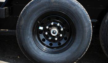 18′ Tandem Axle Equipment Trailer – Fold Up Ramps full