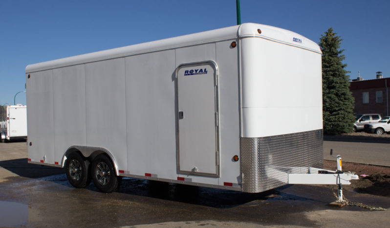 Commercial Enclosed Cargo Trailer 8′ W x 20′ L – 72″ Wall Height full