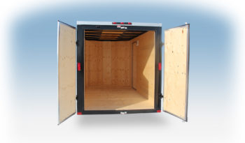 Enclosed Cargo Trailer 6′ W x 14′ L w/ V-Nose – 72″ Wall Height full