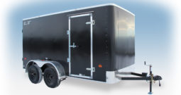 Enclosed Cargo Trailer 6′ W x 12′ L – 72″ Wall Height