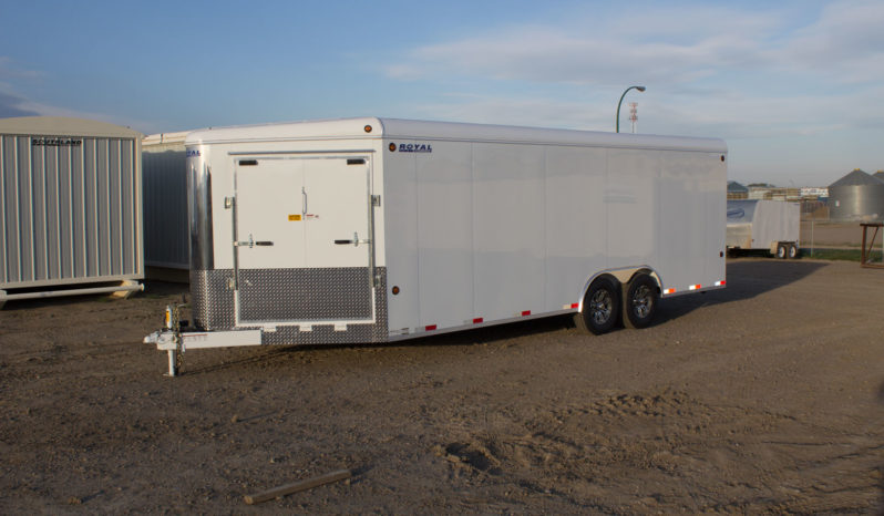 Commercial Enclosed Cargo Trailer 8′ W x 22′ L – 72″ Wall Height full