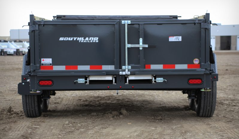 7′ W x 14′ L Tandem Axle HD Dump Trailer – 3 Way Tailgate full