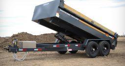7′ W x 14′ L Tandem Axle HD Dump Trailer – 3 Way Tailgate