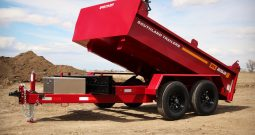 6′ W x 10′ L Tandem Axle Dump Trailer – Double Door Tailgate