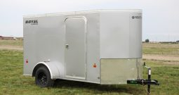 Enclosed Cargo Trailer 5′ W x 12′ L w/V-Nose – 64″ Wall Height