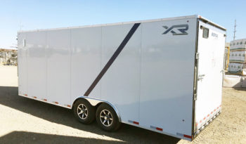 XR Enclosed Cargo Trailer 8′ W x 26′ L w/ V-Nose – 86″ Wall Height full