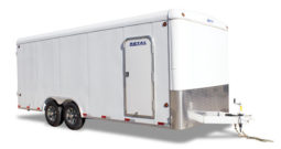 Commercial Enclosed Cargo Trailer 8′ W x 20′ L – 72″ Wall Height