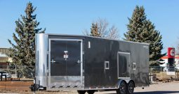XR Enclosed Cargo Trailer 8′ W x 26′ L w/ V-Nose – 86″ Wall Height