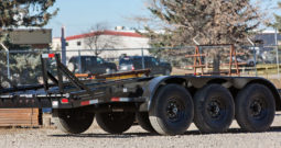 22′ Triple Axle Equipment Trailer w/ 2′ Beavertail – Fold Up Ramps