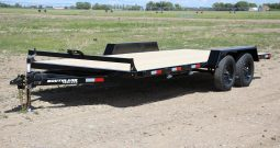 16′ Tandem Axle Car Hauler – Slide In Ramps
