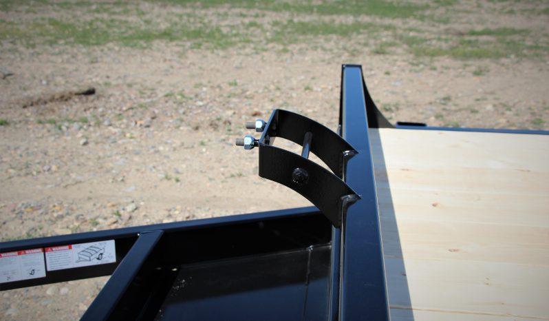 16′ Tandem Axle Car Hauler – Slide In Ramps full