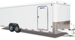 Commercial Enclosed Cargo Trailer 8′ W x 24′ L – 72″ Wall Height