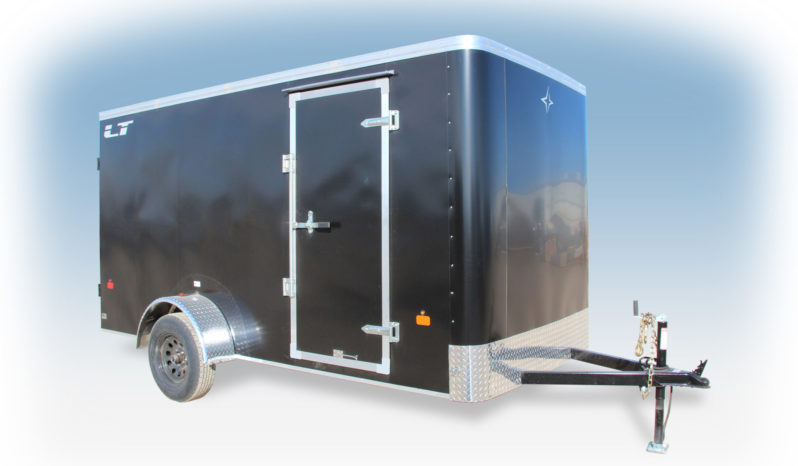 Enclosed Cargo Trailer 6′ W x 12′ L – 72″ Wall Height full