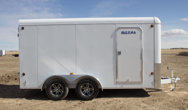 Commercial Enclosed Cargo Trailer 7′ W x 14′ L – 72″ Wall Height full