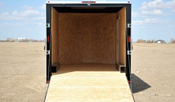 Enclosed Cargo Trailer 8′ W x 18′ L w/ V-Nose- 86″ Wall Height full