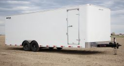 Enclosed Cargo Trailer 8′ W x 24′ L – 78″ Wall Height