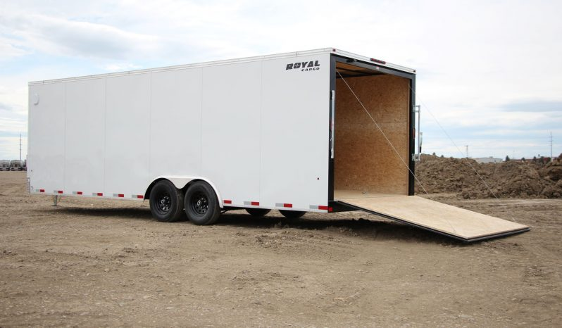 Enclosed Cargo Trailer 8′ W x 24′ L – 78″ Wall Height full
