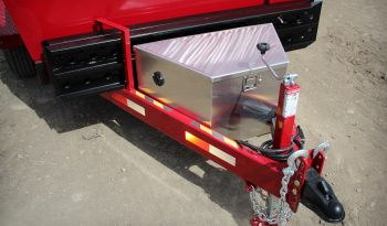 6′ W x 10′ L Tandem Axle Dump Trailer – Double Door Tailgate full