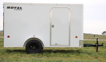 Enclosed Cargo Trailer 5′ W x 10′ L – 64″ Wall Height full