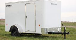 Enclosed Cargo Trailer 5′ W x 10′ L – 64″ Wall Height