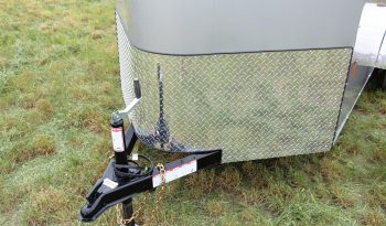 Enclosed Cargo Trailer 5′ W x 12′ L w/V-Nose – 64″ Wall Height full