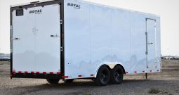 Enclosed Cargo Trailer 8′ W x 20′ L – 78″ Wall Height