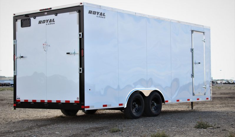 Enclosed Cargo Trailer 8′ W x 20′ L – 86″ Wall Height full