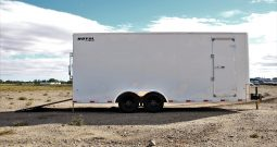 Enclosed Cargo Trailer 8′ W x 20′ L – 86″ Wall Height
