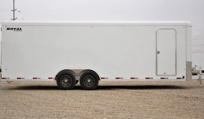 Commercial Enclosed Cargo Trailer 8′ W x 24′ L – 72″ Wall Height full