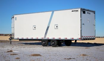 Royal Cargo – 8′ x 26′ Highboy – 4 Place Sled Trailer full