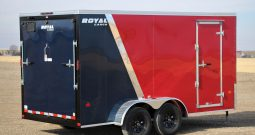 Enclosed Cargo Trailer = 7FT W x 14FT L
