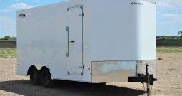 Enclosed Cargo Trailer 8′ W x 16′ L – 78″ Wall Height – 7,700 lb GVWR