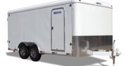 Commercial Enclosed Cargo Trailer 8′ W x 16′ L – 72″ Wall Height